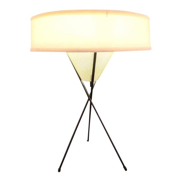 Gerald Thurston for Lightolier Tripod Lamp For Sale