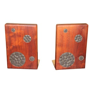 Mid-Century Modern Gordon and Jane Martz Bookends - a Pair For Sale