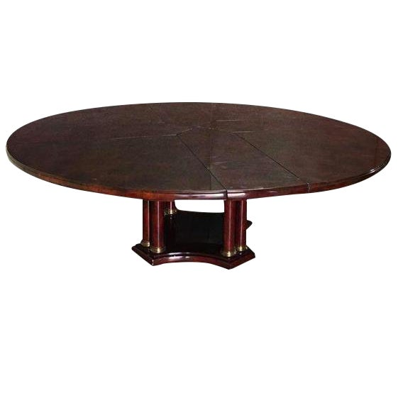 Expandable Circular Dining Table - Image 1 of 10