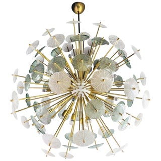 Contemporary Reworked Large Parasole Sputnik Chandelier For Sale