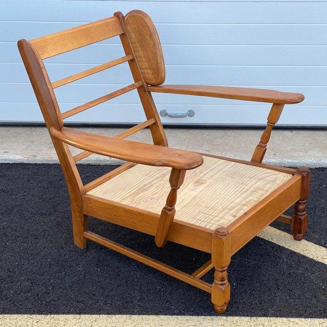 Heywood-Wakefield Heywood Wakefield Lounge Chair For Sale - Image 4 of 13