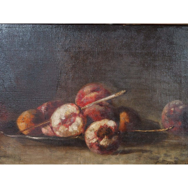 French 19th Century French Still Life Painting For Sale - Image 3 of 7