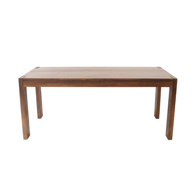 American Mission Walnut Dining Table For Sale - Image 4 of 7