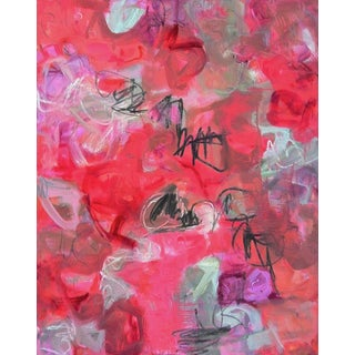 """Dreaming Hamlet"" by Trixie Pitts Extra-Large Abstract Oil Painting"" For Sale"