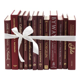 Burgundy Wine Book Bundle For Sale