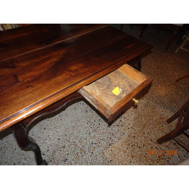 Brown Louis XV Side Table For Sale - Image 8 of 13