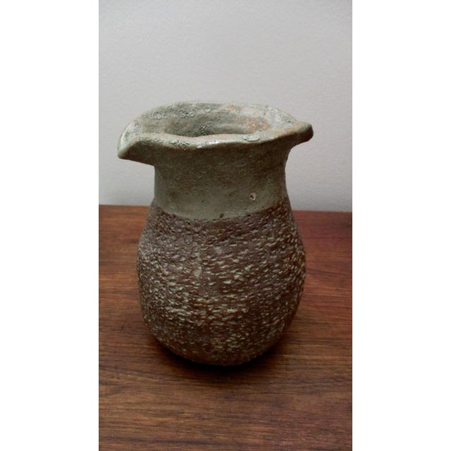 Contemporary Glazed Ceramic Vase For Sale - Image 3 of 10