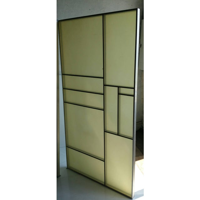 Architectural Aluminum and Fiberglass Panels Mondrian Design - A Pair