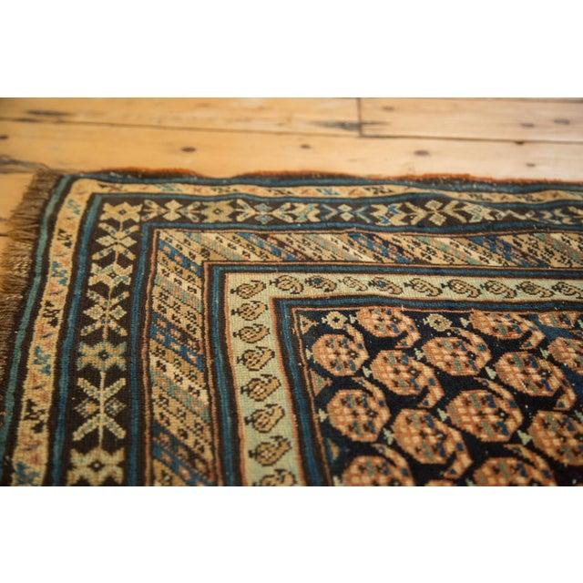 "Textile Antique Caucasian Rug Runner - 3'10"" x 8'10"" For Sale - Image 7 of 11"