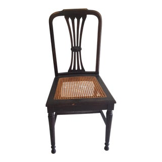 Early 20th Century Vintage Brown Chair For Sale