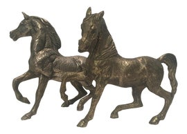 Image of Newly Made Horse Figurines