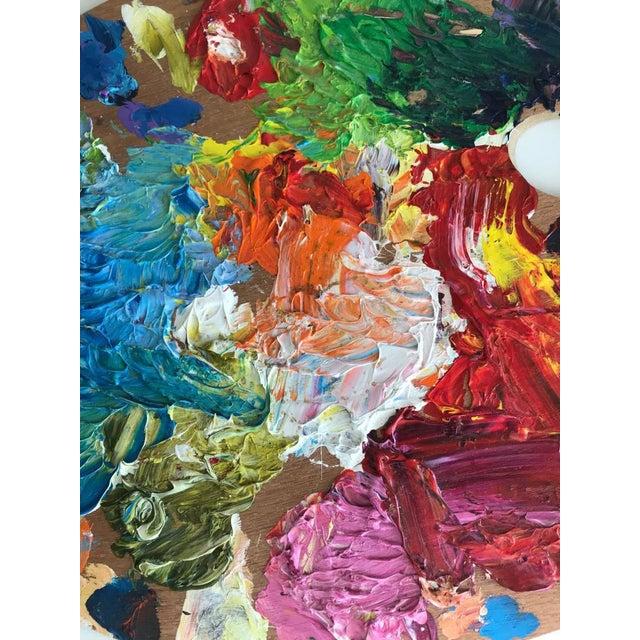 Cottage Vintage Artist Color Palette For Sale - Image 3 of 5