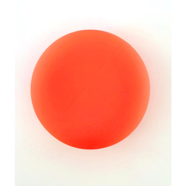 Modern Orange Silicone Vessel For Sale In San Francisco - Image 6 of 7