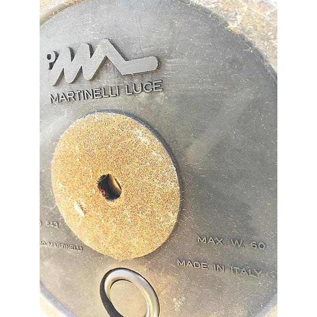 Plastic Martinelli Luce Foglia White Plastic Table Lamp For Sale - Image 7 of 8