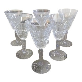 Waterford Crystal White Wine Claret Glenmore - Set of 6 For Sale