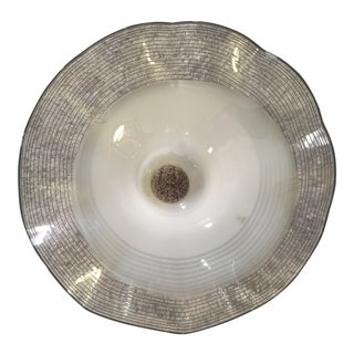 Large Murano Glass Lamp Shade For Sale