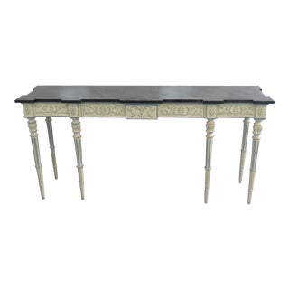 Karges Swedish Style Console Table For Sale