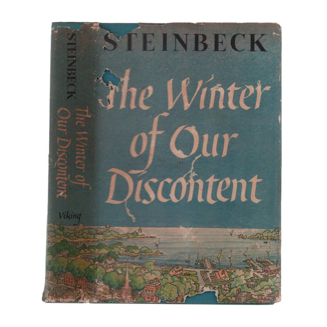 """1960s 1961 """"First Edition, Winter of Our Discontent"""" Collectible Book For Sale - Image 5 of 5"""