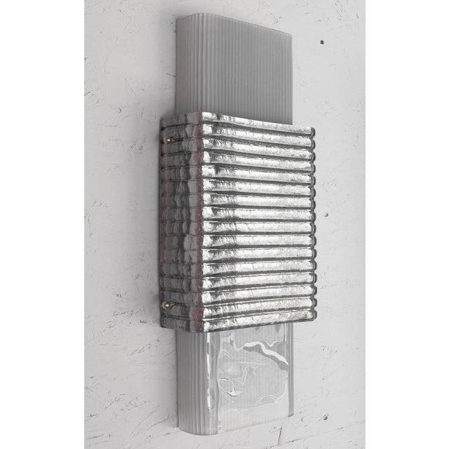 Fabio Ltd Righe Sconces / Flush Mounts by Fabio Ltd - a Pair For Sale - Image 4 of 11