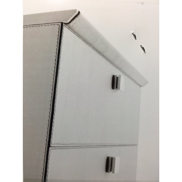 "Contemporary Poltrona Frau Dresser, ""Mobile Più Quattro"" For Sale - Image 3 of 4"