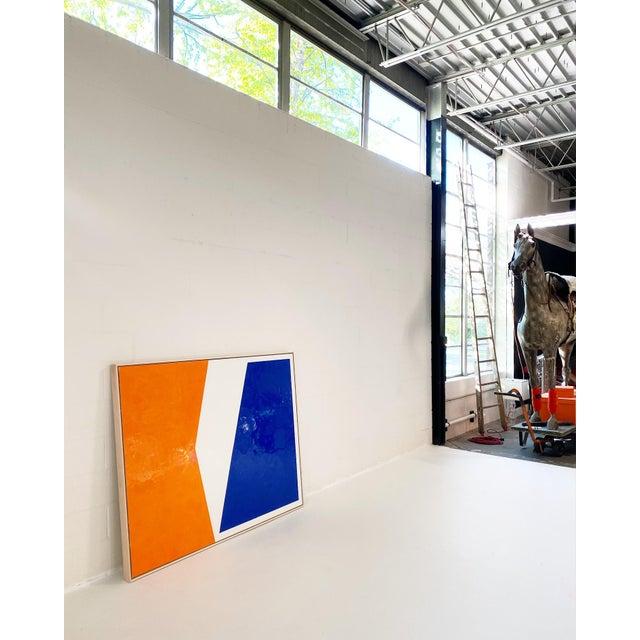 2020s John O'Hara, Sidewalk, Encaustic Painting For Sale - Image 5 of 7