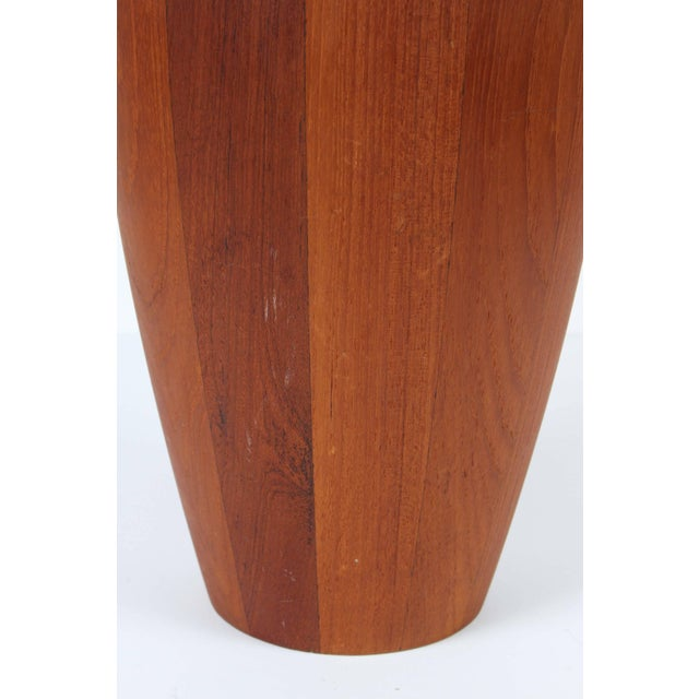 Mid-Century Modern Vintage Teak Ice Bucket Designed by Jens Quistgaard For Sale - Image 3 of 7