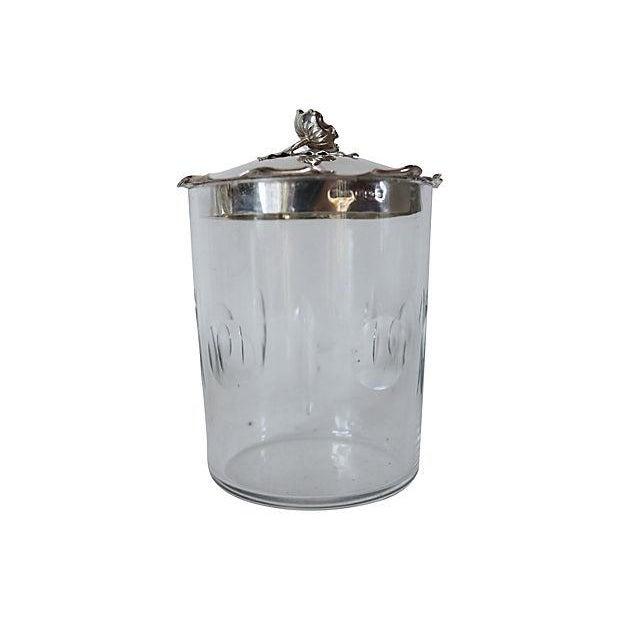 Sterling Silver & Crystal Honey Pot - Image 3 of 3