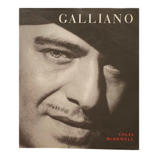 1999 Galliano Book by Colin McDowell For Sale