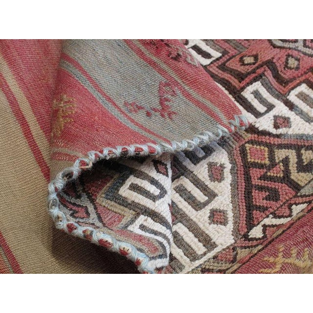 "Textile ""Grain Sack"" For Sale - Image 7 of 7"