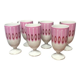Shagadelic Mod Set of 6 Mugs For Sale