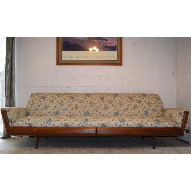 Pearsall Style Mid-Century Modern Gondola Sofa - Image 2 of 4