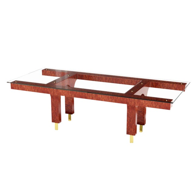 Great Arch Dining Table by Artist Troy Smith - Contemporary Design - Handmade Furniture - Limited Edition For Sale