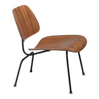 Rare zebra edition of the Eames LCM chair for Herman Miller For Sale
