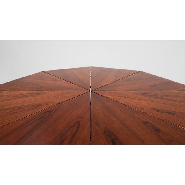 "Jorge Zalszupin Jorge Zalszupin, ""Petalas"" Rosewood Coffee Table, C. 1960 - 1969 For Sale - Image 4 of 8"
