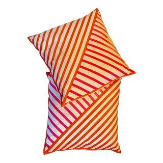 Jonathan Adler Ribbon Pillows - A Pair