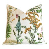 Image of Fern Floral Pillow Cover 18x18 For Sale