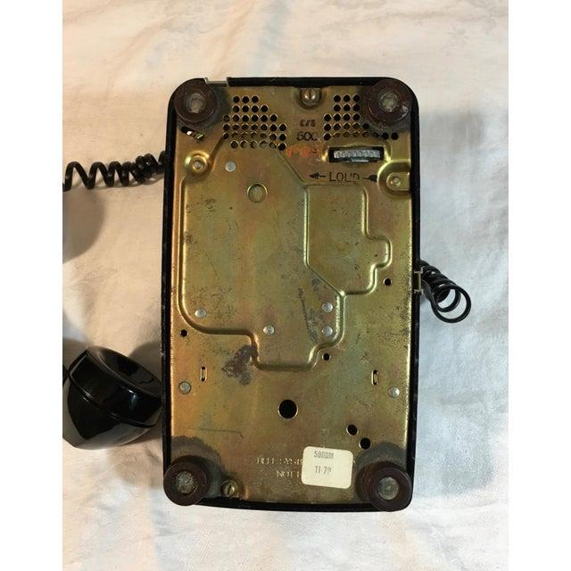 Vintage Black Rotary Telephone - Image 8 of 8