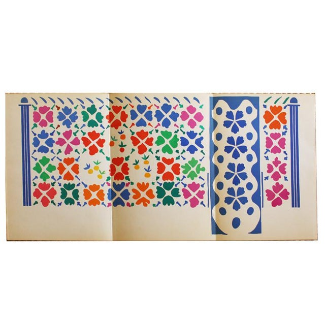 1954 Henri Matisse Decoration Fruits Original Lithograph - Image 2 of 7