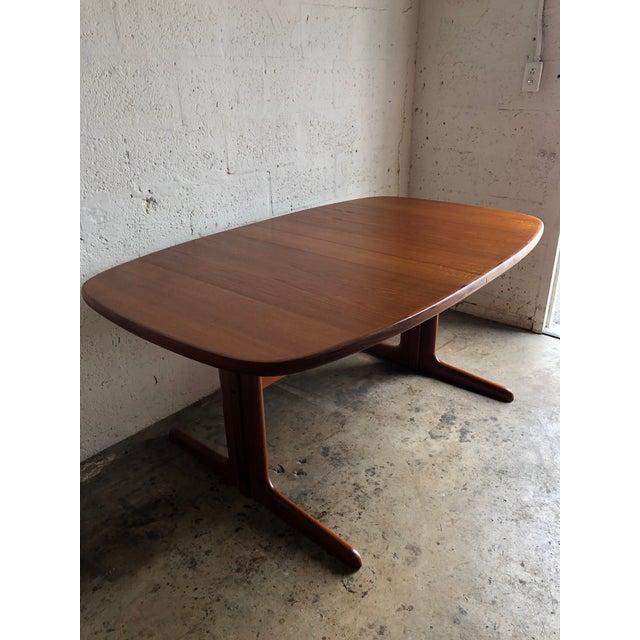 1960s Vintage Mid-Century Danish Modern Extendable Dining Table by Skovby Mobelfabrik Denmark For Sale - Image 5 of 13