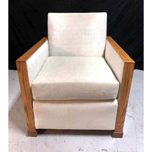 Stunning Ralph Lauren Club Chairs by Henredon—a Pair For Sale - Image 9 of 13