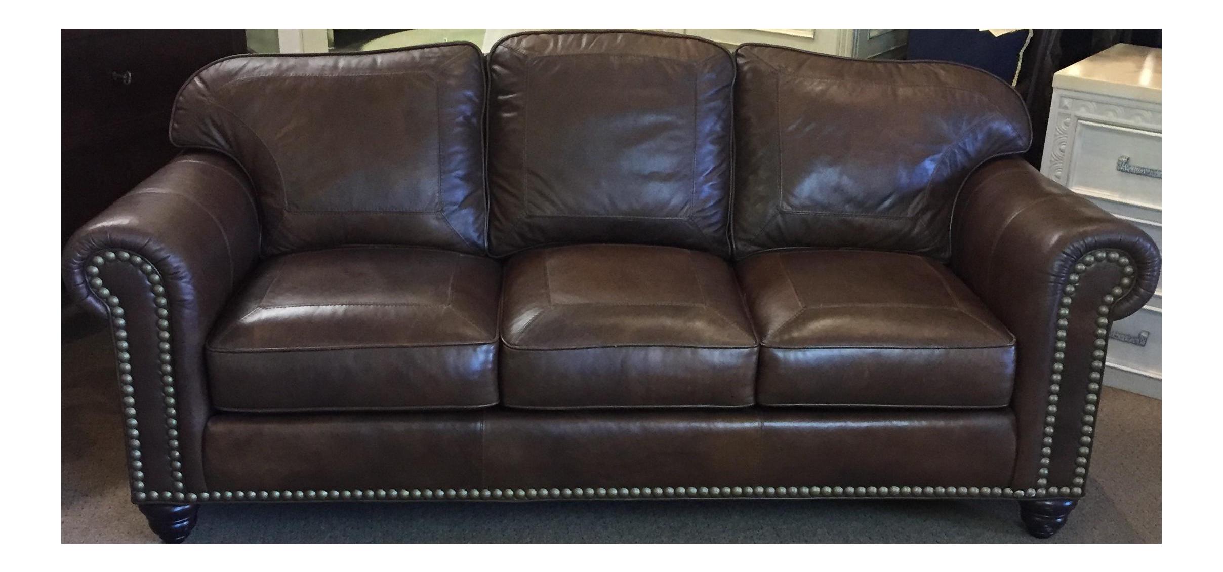 Whittemore Sherrill Leather Sofa Chairish
