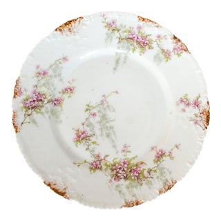 Theodore Haviland Limoges Plate For Sale
