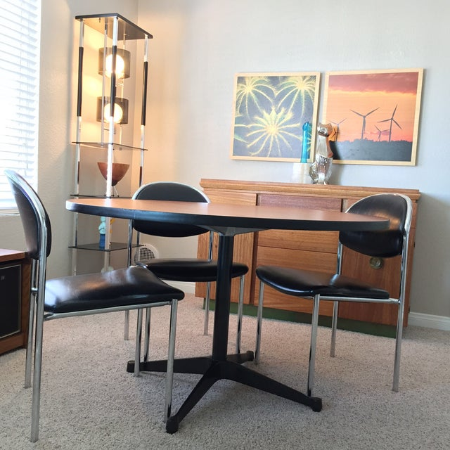 Mid-Century Modern Eames for Herman Miller Contract Base Dining Table For Sale - Image 3 of 9