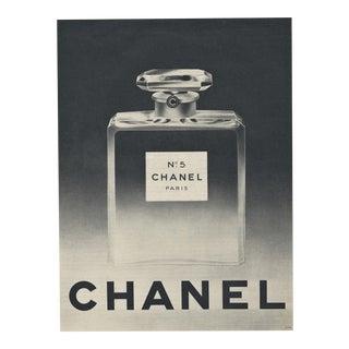 Original mid century Chanel No 5 perfume print