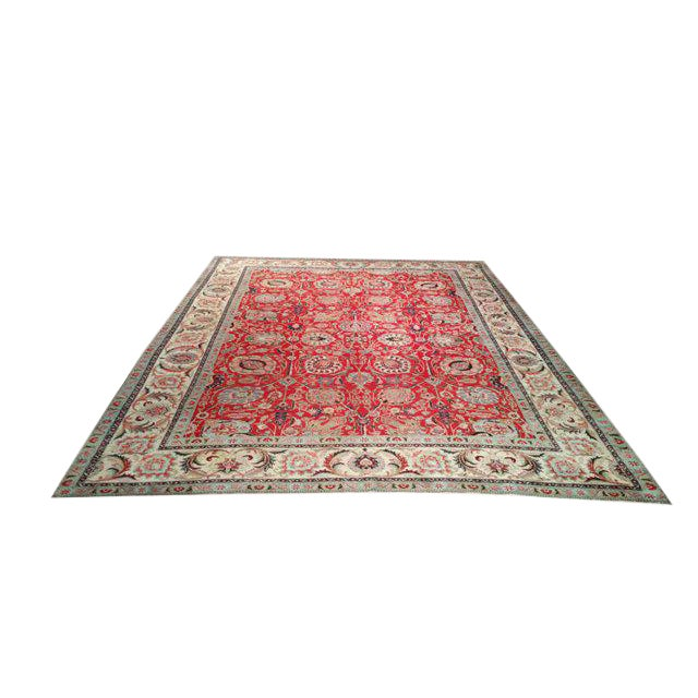 10′1″ X 13′2″ Persian Handmade Knotted Rug