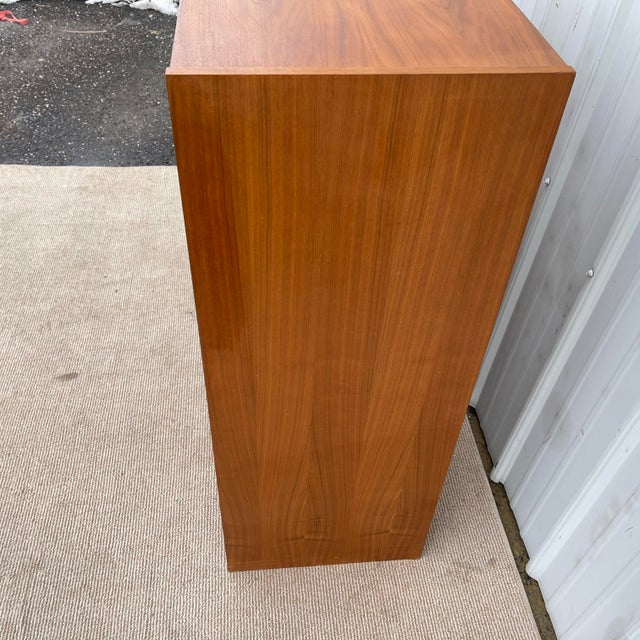 Wood Vintage Modern Six Drawer Teak Dresser For Sale - Image 7 of 13