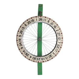 Vintage Spinning Game Wheel For Sale