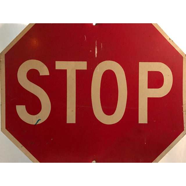 Industrial Stop Road Sign - Image 3 of 6