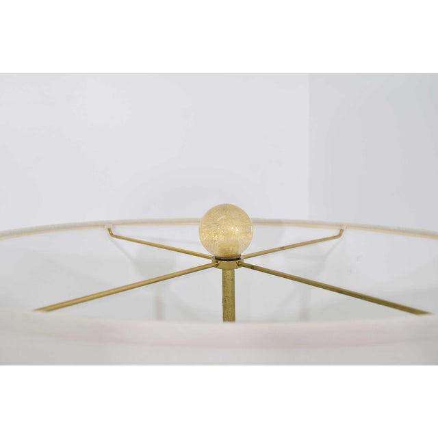 Glass Vela Venetian Glass Lamp by Donghia For Sale - Image 7 of 13
