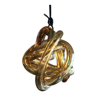 "Sklo Studio ""Wrap"" Glass Pendant"